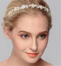Crystal Floreale Aliceband Matrimonio Fascia DIAMANTE NUZIALI accessori 1 PEZZI