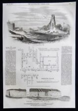 Antique (Pre-1900) Vintage Topographical Art Prints