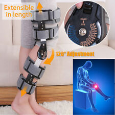 Universal Inspired Breg Telescopic Post Op ROM Leg Hinged Knee Brace Adjustable