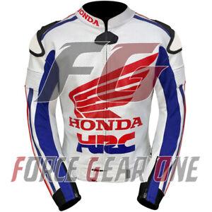 Honda HRC Motogp Motorbike / Motorcycle  Racing Cowhide Leather Jacket