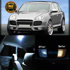 23Pcs Interior Car LED Bulb Canbus Lights  KIT Fit Porsche Cayenne 955 2003-2006