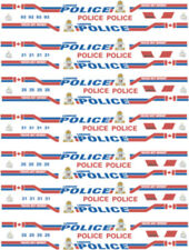 1/43 SCALE LONDON ONTARIO POLICE DECALS -  FOR WELLY FORD CROWN VICTORIA