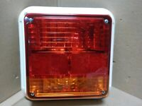 """SA302x55-88Y NEW RV CAMPER 4.5/"""" CLEARANCE MARKER CLEAR 3 LED AMBER GLO-BRITE"""