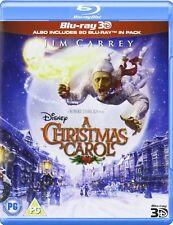 A Christmas Carol (3D Edition with 2D Edition) [Blu-ray]