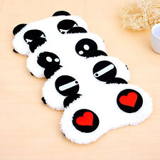 Cute Panda Face Eye Travel Sleep Lightproof Mask Blindfold Portable Nap Cover WB