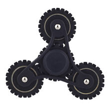 Adult Tri Toy Fidget Spinner Hand Lux Accessories Matte Black Trendy Kids