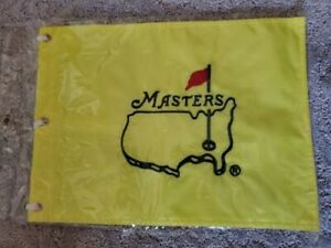 NEW Undated Masters Embroidered Flag Augusta National Golf Club 2020 Tiger Woods