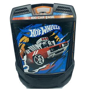Hotwheels Carrying Case for Hot Wheels Cars Rolling Matchbox Carrier 100 Box
