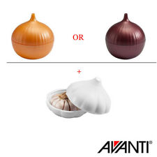 NEW Avanti Garlic Saver & Onion Saver set