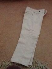 Chicas Bebé Rosa Jeans. Talla 6 [6] la edad. usado