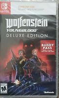 Wolfenstein: Youngblood Nintendo Switch Deluxe Edition New!