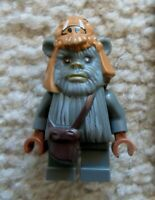 LEGO Star Wars - Rare Ewok Minifig - Teebo - From 10236 - Excellent