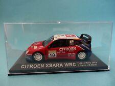 CITROEN XSARA WRC #19 - CARLOS SAINZ 1º RALLY TURQUIA 2003 1/43 NUEVO IXO ALTAYA
