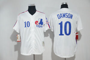 MONTREAL EXPOS #10 ANDRE DAWSON THROWBACK 1982 JERSEY