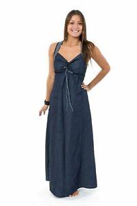 Robe longue jean denim doux originale Taly - Neuf - S au XXXL