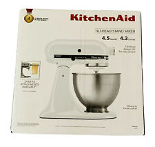 KitchenAid 4.5 Quart Tilt-Head Stand Mixer KSM75WH - White NEW