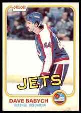 1981-82 O-Pee-Chee Dave Babych #358