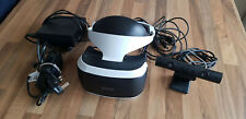 Sony PlayStation VR Headset Camera Bundle  PS4 set up - only used 5 times