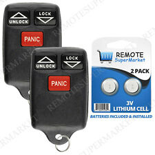 2 Replacement for Dodge 96-98 Dodge Grand Caravan Remote Car Keyless Entry Fob
