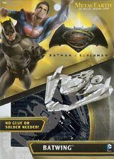 Batman VS Superman Batwing Metal Earth 3D Model Kit FASCINATIONS