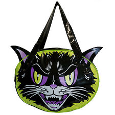 Kreepsville 666 Kattitude Shoulder Bag Black Purse Gothic Horror