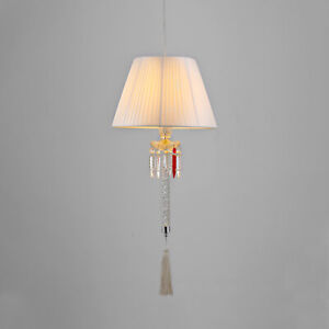BACCARAT STYLE TORCH CEILING LAMP MAKER UNKNOWN