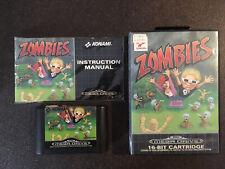 Sega Megadrive Zombies Complet