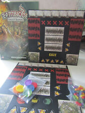 Zombicide Green Horde / Black Plague Tokens, Bases, Trackers, Green Horde Rules