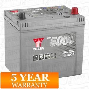 Yuasa Car Battery Calcium Silver Case 12V 550CCA 65Ah T1 For Subaru Impreza 1.6