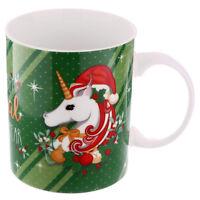 Einhorn Tasse Weihnachten Christmas Becher Kaffeetasse Kaffeebecher Geschenk NEU