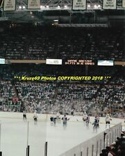 BOSTON GARDEN Night the LIGHTS WENT OUT Bruins vs Oilers 1988 CUP FINALS 8x10~@@