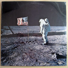 First Man On The Moon - RARE MINT SEALED LP NASA / SPACE DOCUMENTARY / MARK 56