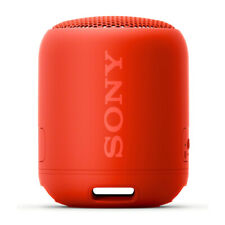 Sony XB12 Extra Bass Portable Bluetooth Speaker (Red)