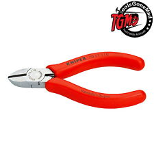 Knipex 110mm Mini Diagonal Side Cutters with Opening Spring 7011110 German Made