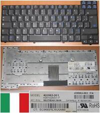 TASTIERA ITALIANA HP NC6110 NC6100 NX6110 405963-061, P / N: 416039-061 Nero
