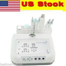 4 In 1 Ultrasound Face Skin Scrubber Machine Microcurrent Diamond beauty machine