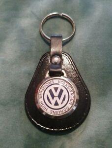 Volkswagen Genuine High Emissions VW Beetle Hot Rod QUALITY LEATHER KEYRING