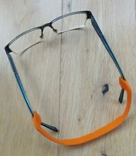 GLASSES SECURE SPORTS ELASTIC STRAP - ORANGE 21cm (BRAND NEW)