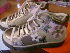 Scarpe bambina CHICCO NR. 28 tutte in pelle color bronzo Euro 54,90 NUOVE!