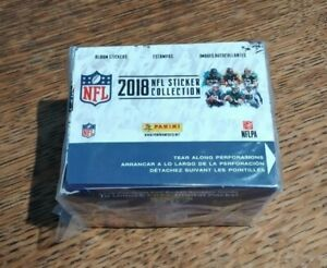 2018 NFL Sticker Collection Booster Box [50 Packs]