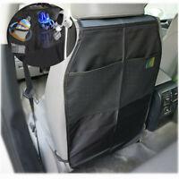 Car Vehicle Seat Back Protector Cover Children Kids Kick Mat Mud Storage Bag !