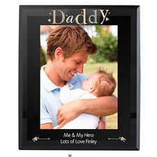 Daddy Black Glass 5x7 Frame, Perfect Gift