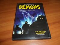Demons (DVD, 2007, Widescreen Special Edition) Used Urbano Barberini