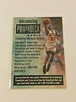 1998 Upper Deck PowerDeck Basketball Promo Card - Michael Jordan - Chicago Bulls
