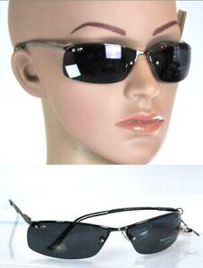 Occhiali da Sole Uomo/Donna MELANIN Protezione Melanina UV 100% Lenti Scure D946