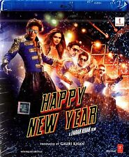 HAPPY NEW YEAR (2014) SHAHRUKH KHAN, DEEPIKA PADUKONE - BOLLYWOOD BLU-RAY