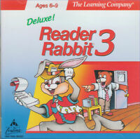 READER RABBIT 3 DELUXE 1996 +1Clk Macintosh Mac OSX Install