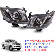 Fit Toyota Hilux SR 5 Vigo Kun Head Lamp light Led Ute Pickup 2012 13 - 15