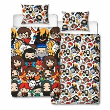 HARRY POTTER CHARM SINGLE DUVET COVER NEW REVERSIBLE