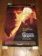 The Talented Mr Ripley Original Poster 27 X 40 - 2 Side